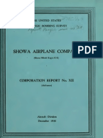 USSBS Report 27, Showa Airplane Company