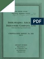 USSBS Report 28, Ishikawajima Aircraft Industries Company