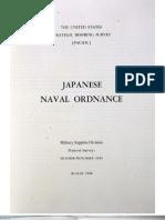 USSBS Report 44, Japanese Naval Ordnance