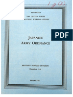 USSBS Report 45, Japanese Army Ordance