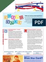 Blue Star Card Newsletter Sept 11