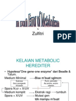 Inborn Error of Metabolism