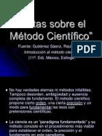 1.4. Notas sobre el Método Científico(2)