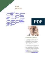 Origen de diversas patologías según la Dra