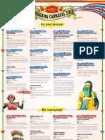 Programacion Carnaval 2012