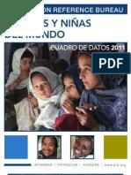 World Women Girls 2011 Data Sheet Sp
