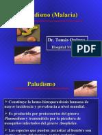 paludismo pregrado (v 2) Dr. Orduna