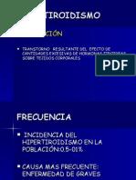 HIPERTIROIDISMO Dra. Liduvina