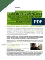 Rappel - AntiphonieMontréalMons