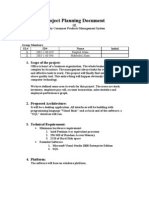 Project Planning Document