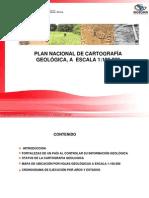 Plan Nacional Cartografia Geologica