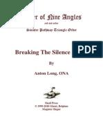 Anton Long & Order of Nine Angles - Breaking the Silence Down