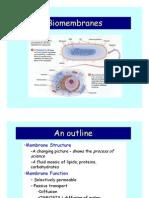 Biomembranes(3)