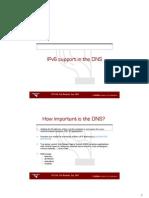 dns IPV 6