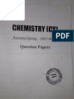 Chemistry 1st Year Papers