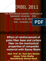 Effect of Reinforcement of Palm Fiber Base and Carbon Fiber on the Mechanical Properties of Composite Material With Epoxy Resin