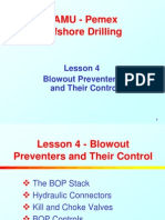 4. BOPs and Their Control