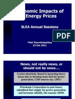 SLEA_Session1_Impact of Energy Prices_Dr Tilak Siyambalapitiya