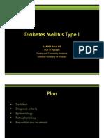 Diabetes Mellitus Type I-Kabera Rene,MD