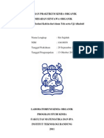Laporan Praktikum Kimia Organik 2