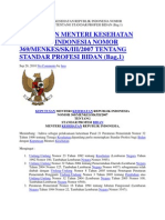 Keputusan Menteri Kesehatan Republik Indonesia Nomor 369
