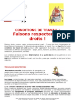 Conditions de Travail (2)