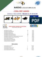 Stock Marino 15 de Octubre de 2011