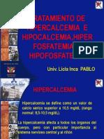 TRATAMIENTO DE HIPERCALCEMIA