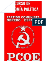 Curso de Economía Política - CC del PCOE