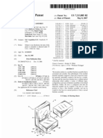 Modular furniture assembly (US patent 7213885)