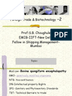 Foreign Trade & Biotechnology