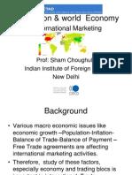Int Marketing 2 - Institutions & World Economy