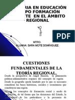 Cuestiones fundamentales sobre la region