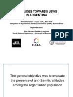 2010 Survey of Anti-Semitism in Argentina 20110921