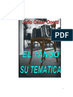 Julio Cesar Onetti - El Tango y su Tematica libro