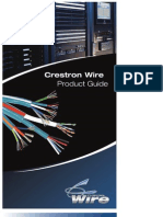 Crestron Wire Product Guide