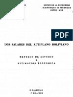 Los Salares Del Altiplano Boliviano