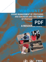 Sound Management of Pesticide WHO-UNEP