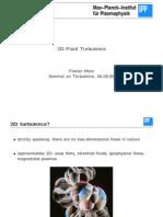 2D Fluid Turbulence (Merz)
