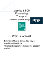 Forecasting & Transport