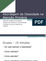 Apresentação Obesidade - LIMFC
