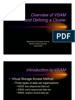 Overview of VSAM