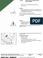 -1RA  Dépose et reposse   remplacement de la pompe à eau (M47)