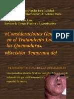Tratamiento Local de La Quemadura i.