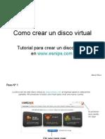 Como crear un disco virtual
