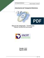 Manual CTe v1.03