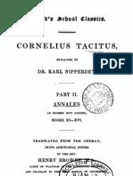 Cornelius Tacitus Annales2 Explained by K