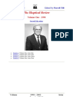 The Skeptical Review Volumes 1-13