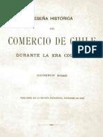 Agustin Ross - Comercio de Chile Durante La Era Colonial