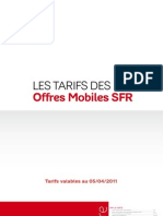 Brochure Tarifs Offres Mobile